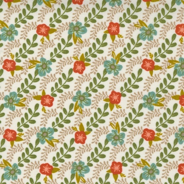 Trellis Climb, dove wing - Songbook - Moda Fabrics