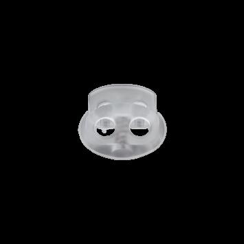 Kordelstopper transparent