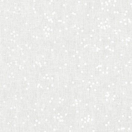 Arroyo Spotty - Essex Yarn Dyed Canvas - Snow