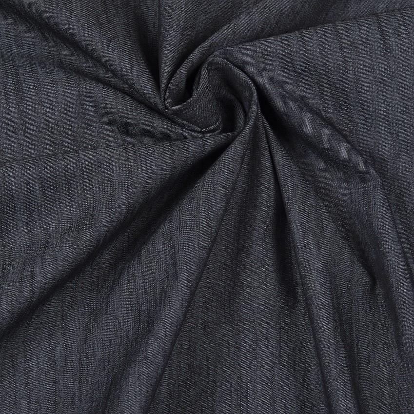 """Reststück 1,38mx1,30m - """"Summer Denim"""" von Hilco - dunkelblau"""