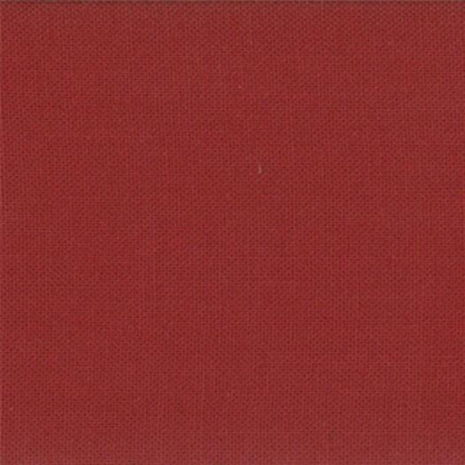 "Moda Stoff ""Bella Solids"" - brick red"
