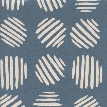 Cotton and Steel - Panorama - Coin Dots - Dolphin