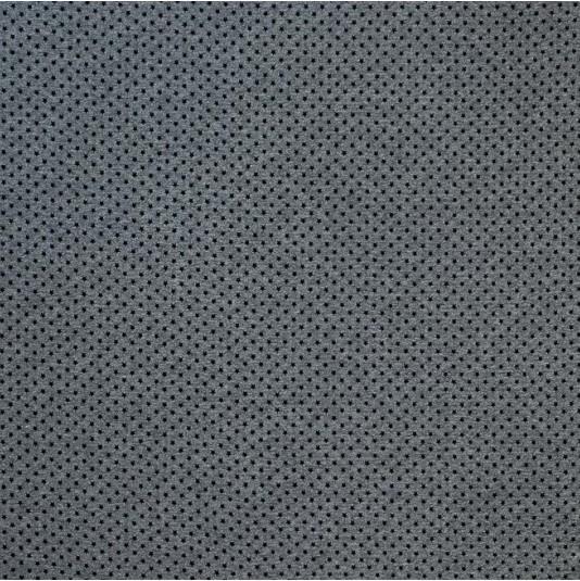 Lillestoff Doubleface Mini Stars - schwarz-graumeliert