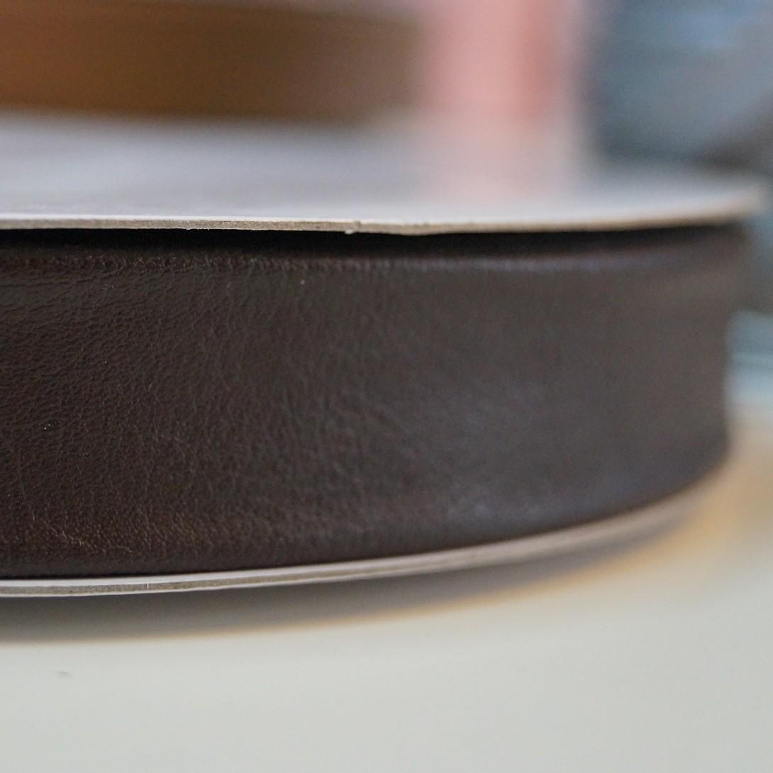 Leder Schrägband dunkelbraun