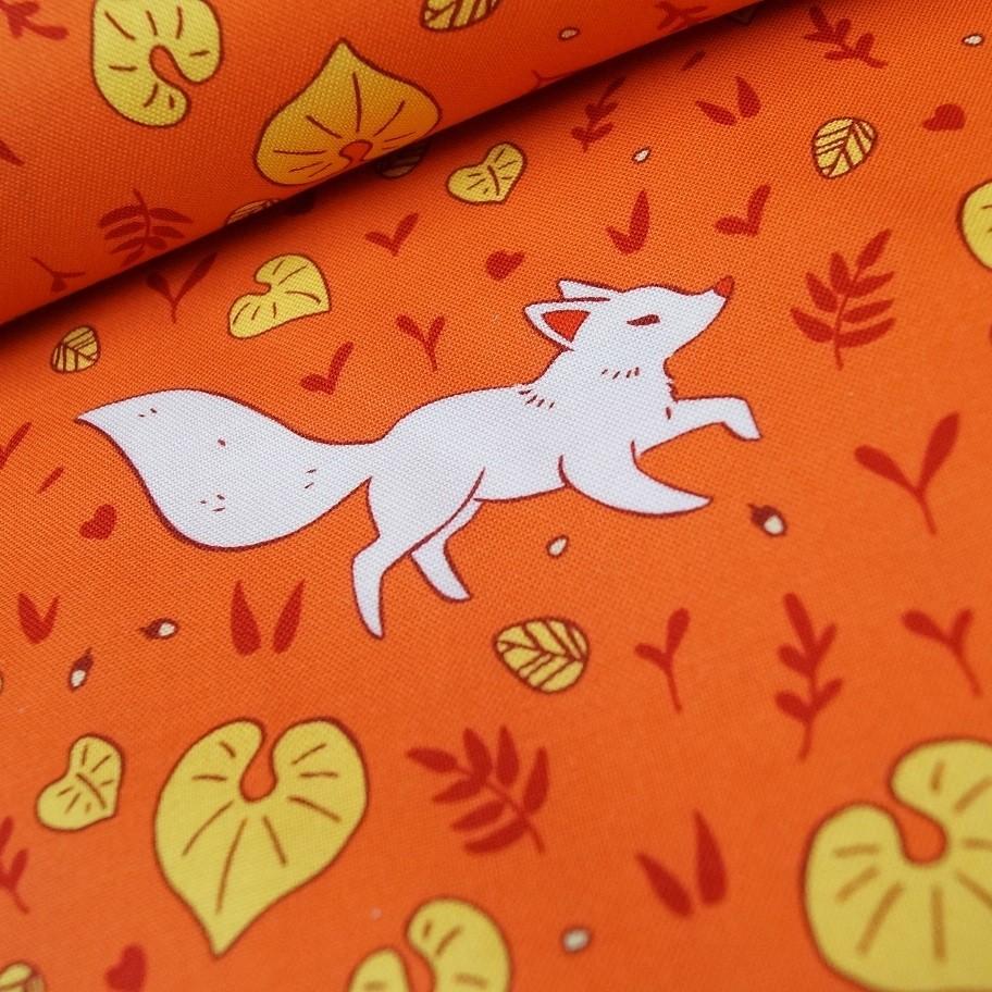 """Windham Fabrics """"Forest Spirit"""" Füchse orange"""
