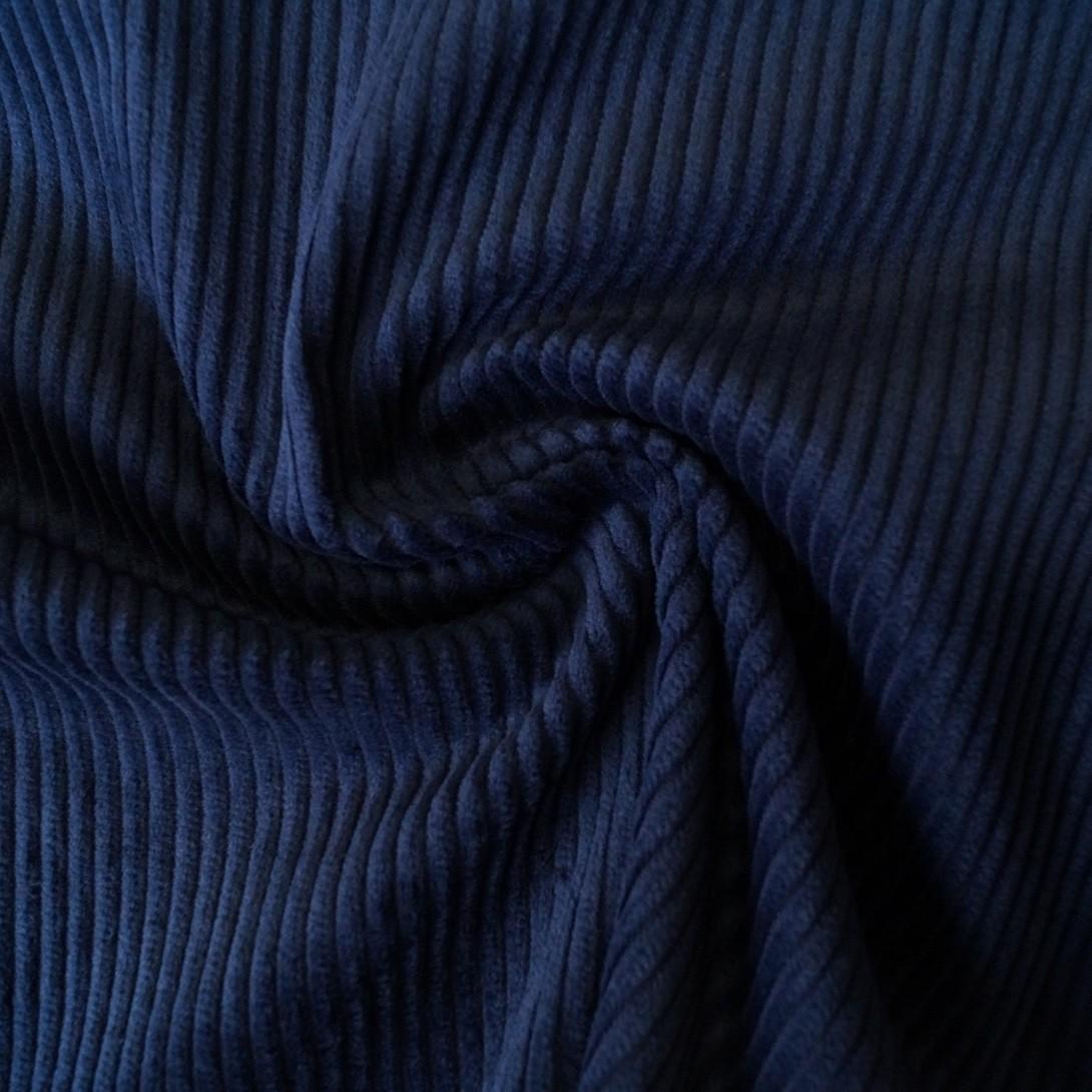 Trend Cord / Breitcord dunkelblau von Hilco