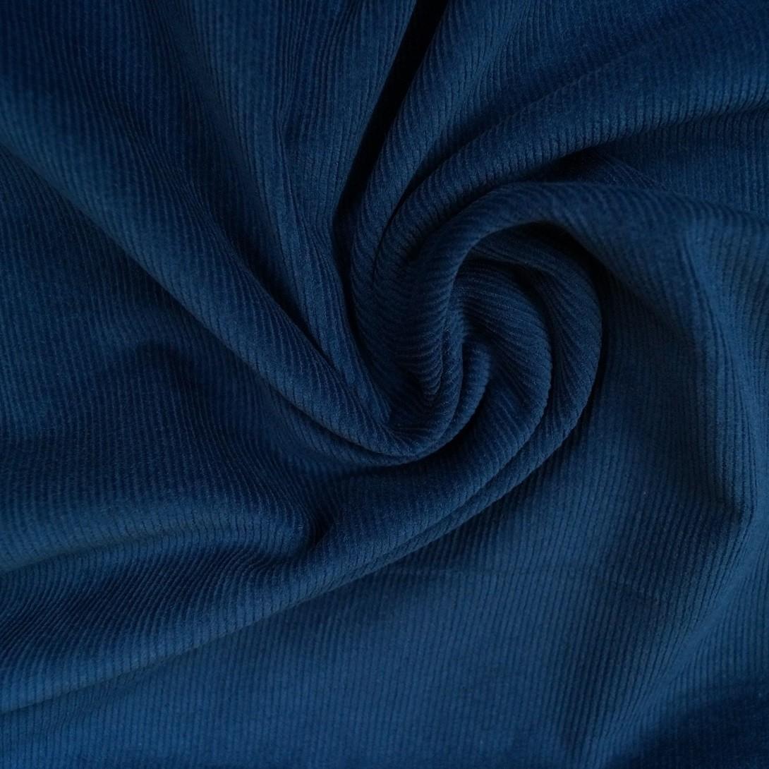 Uni Cord dark denimblau - 16W