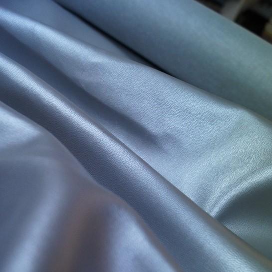 Taschen Kunstleder - silber metallic