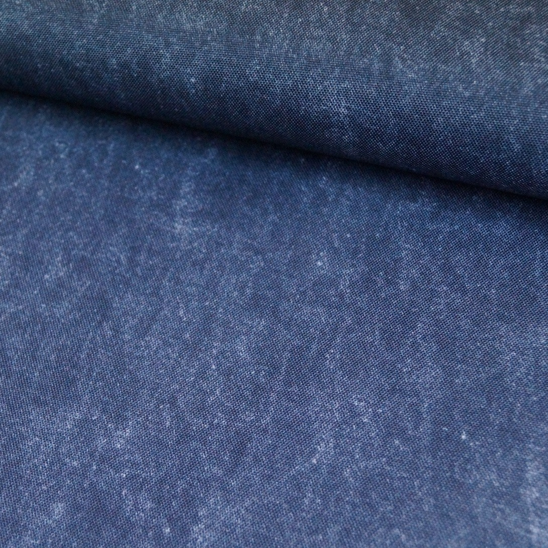 Deko / Outdoorstoff in jeansblau