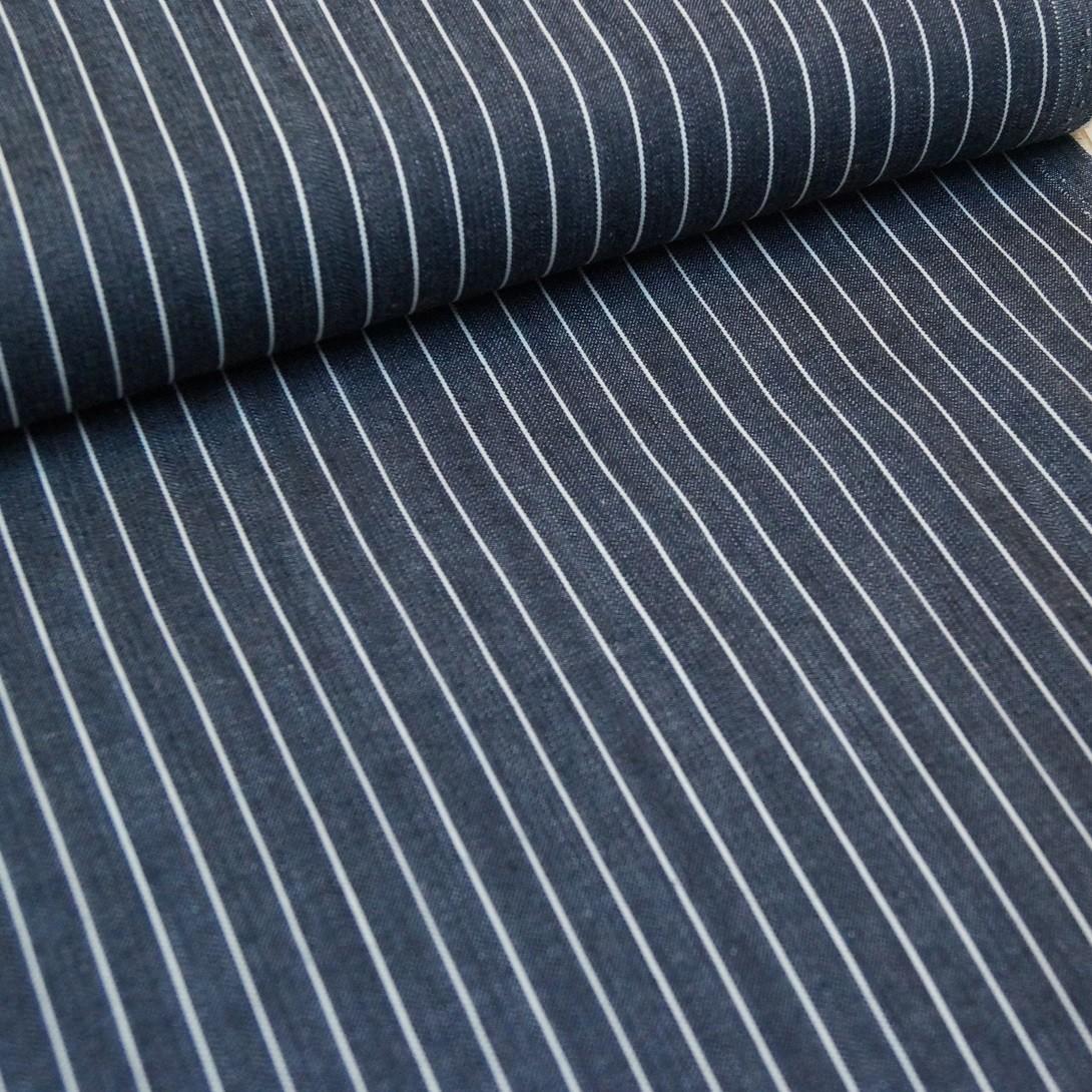 Streifen-Jeans - dunkelgrau
