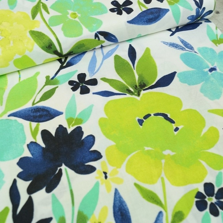 3 Wishes Fabrics - Flower Garden - Charisma