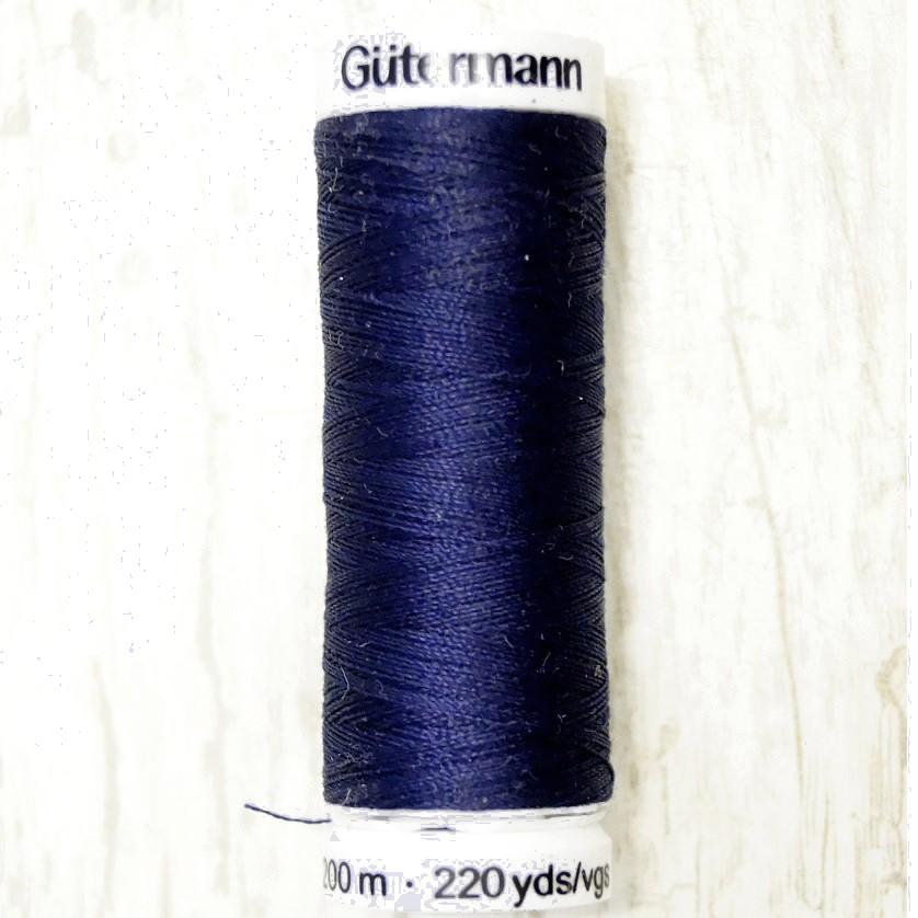 Gütermann Allesnäher Garn 200m col. 13 dunkelblau