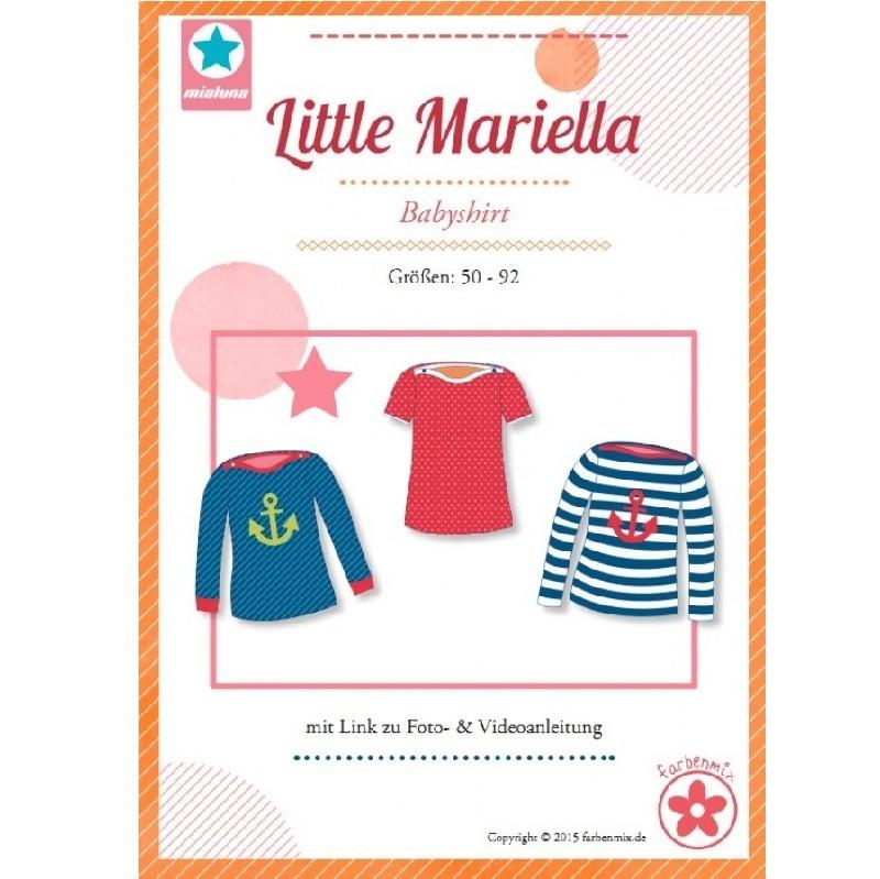 Little Mariella Farbenmix Mädchenshirt Schnittmuster