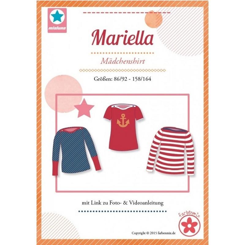 Mariella Farbenmix Mädchenshirt Schnittmuster