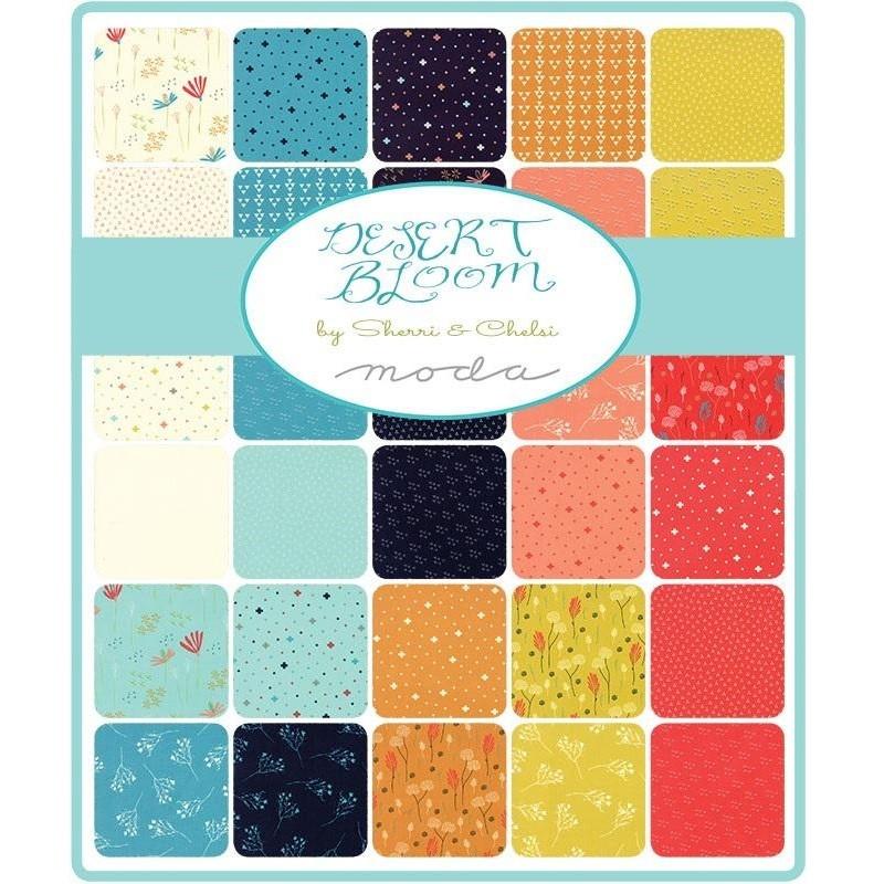Desert Bloom von Sherri & Chelsi - Layer Cake - Patchworkset