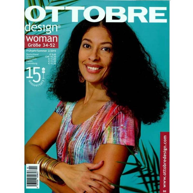 Ottobre woman Größe 34-52, Frühjahr/Sommer 02/2015