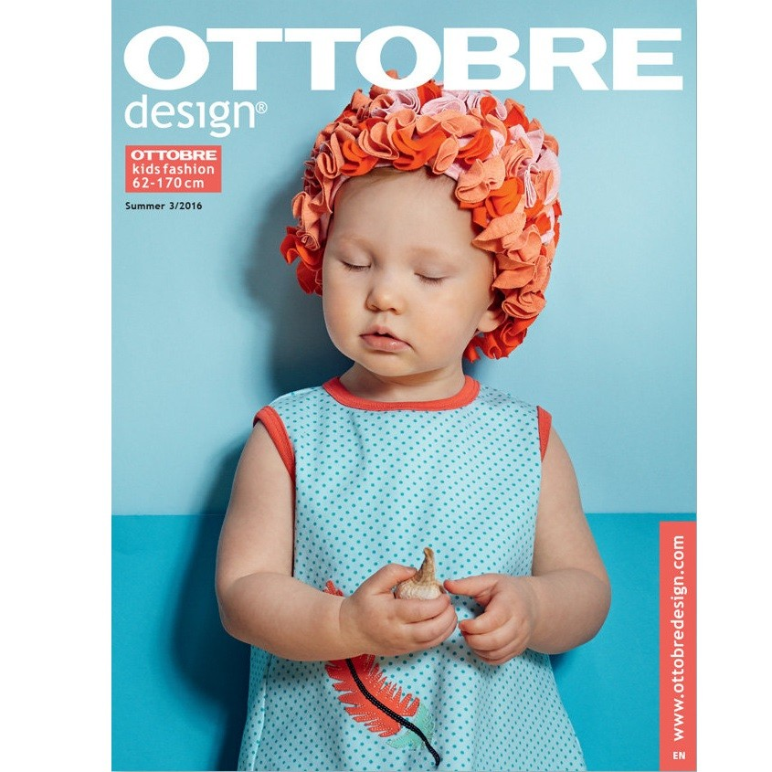Ottobre kids fashion Größe 62-170 Sommer 03/2016