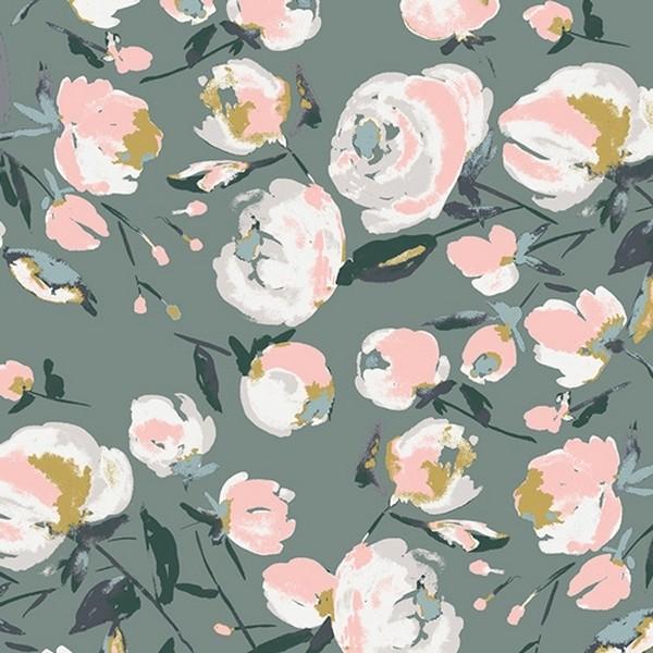 """Everlasting Blooms"" Rayon - Art Gallery"