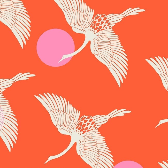 Florida - Ruby Star Society - Egrets - fire