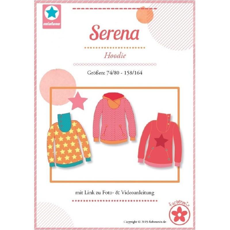 Serena Farbenmix Hoodie Schnittmuster