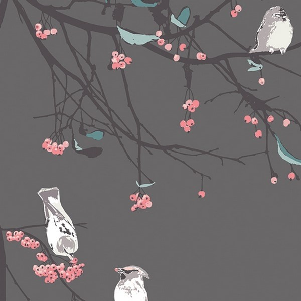 Art Gallery Voile - Moon Birds Songs - Blithe