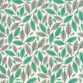 """Beech Leafe"" azure - Big Sky - Moda Fabrics"