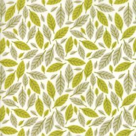 """Beech Leafe"" ochre - Big Sky - Moda Fabrics"
