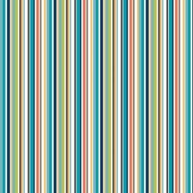 Makower - Jungle Stripe - blue