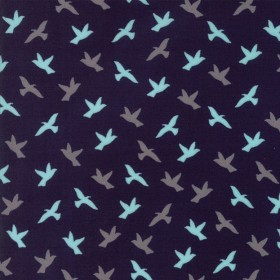 """Soar"" midnight - Creekside - Moda Fabrics"