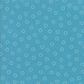 """""""Daisy Dots"""" marine - Creekside - Moda Fabrics"""