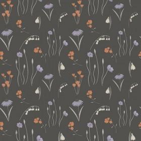 RJR Fabrics - Pond Life - Mini Meadow - grey