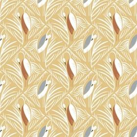 RJR Fabrics - Pond Life - In the Nest - warm sun