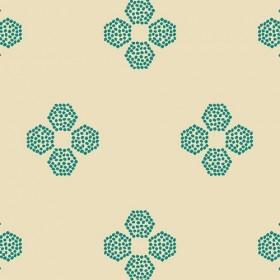 Art Gallery - Indie Folk - Droplets Petal malachite