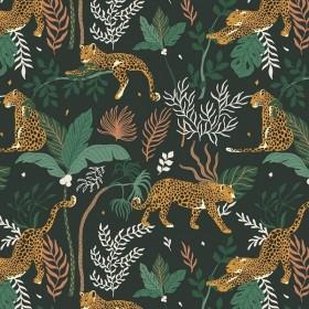RJR Fabrics - Magic of Serengeti - Leopard - jungle