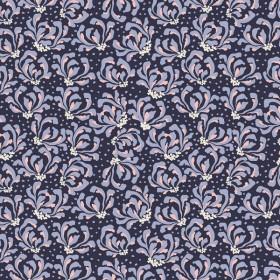 RJR Fabrics - Magic of Serengeti - Blooming Flowers - amethyst shadow