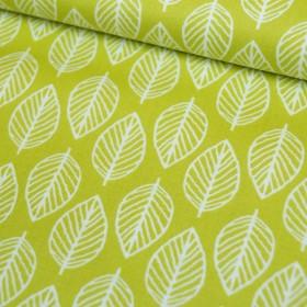 Leaf in grün-gelb - Makower - Modern Retro