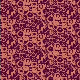 Cotton+Steel Canvas - Emilia - Adele burnt orange