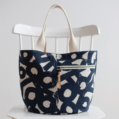 Noodlehead Schnittmuster - Crescent Tote
