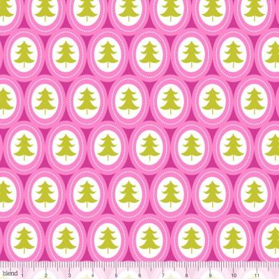 """Blend """"Treelicious"""" - Weihnachtsbäume von Maude Asbury pink"""