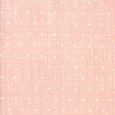 "Quarter 44cmx56cm - Moda ""Bayberry"" von Kate & Birdie - Chambray Dots blossom"
