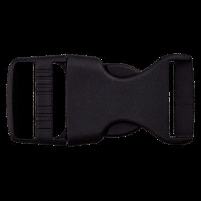 Rucksackschnalle schwarz 40mm