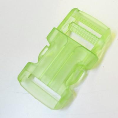 Rucksackschnalle grün 25mm