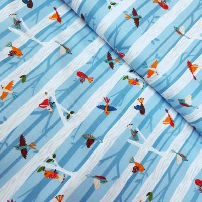 "Windham Fabrics ""Bear Camp"" - little Birds"