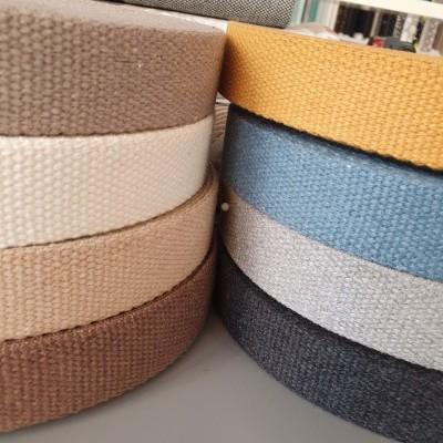 Baumwollgurtband Recycelt - 30mm - verschiedene Farben