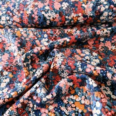 Kokka - Leichter Viera - bunte Blumen