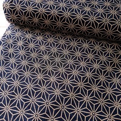 Baumwollstoff - Japanische Sterne