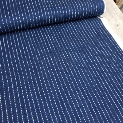 "Windham Fabrics ""Stitched Stripe"" - indigo"