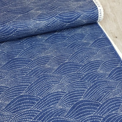 "Windham Fabrics ""Waves"" - denim"
