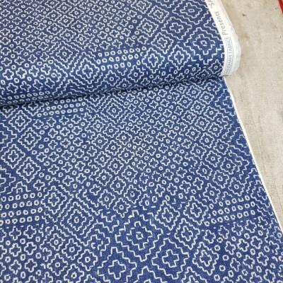 "Windham Fabrics ""Stitch Sampler"" - denim"