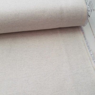 Melierter Canvas - hellgrau-weiß